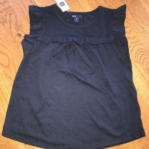 Gap NWT girls Navy T-shirt size 10